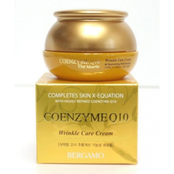 Восстанавливающий крем-коктейль для лица BERGAMO Coenzyme Q10 Cream 50ml *